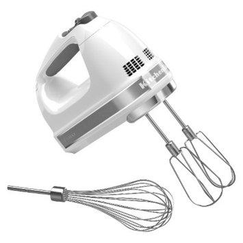 KitchenAid 7-Speed Hand Mixer- White KHM7210
