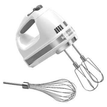 KitchenAid 7-Speed Hand Mixer- White KHM7210