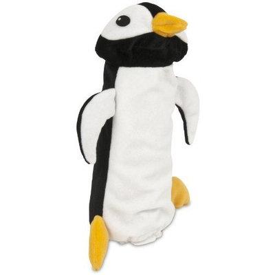 Petmate 54197 Squeakbottles Penguin Dog Toy, Black