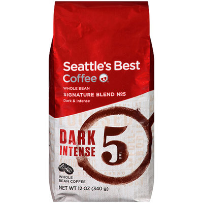 Seattle's Best Coffee Level 5, Whole Bean, 12 oz