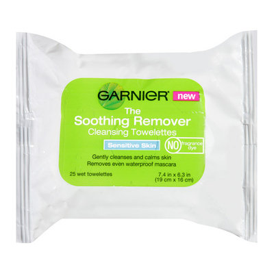 Maybelline Garnier The Soothing Remover Sensitive Skin Cleansing Towelettes
