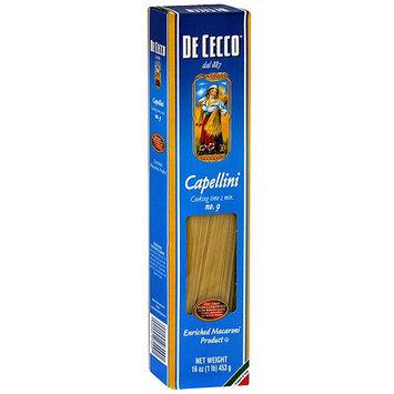 De Cecco Capellini Pasta, 16 oz (Pack of 20)