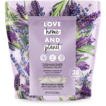 Love Home and Planet Lavender & Argan Oil Dishwasher Detergent Packets