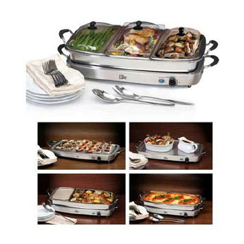 Maximatic Triple Deluxe Buffet Server