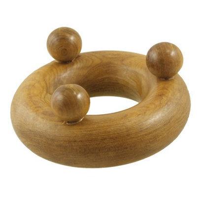 Mini Wood Circle Shaped Arms Legs Massage Massager