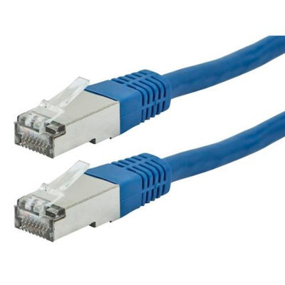 Monoprice 25FT FLEXboot Series 26AWG Cat6A 500MHz STP Bare Copper Ethernet Network Cable - Blue