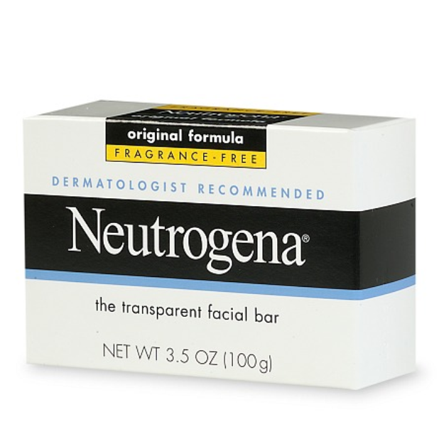 Neutrogena Transparent Facial Bar Soap