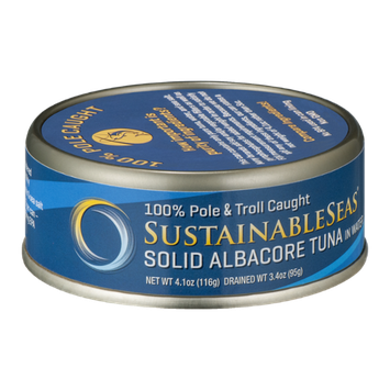 Sustainable Seas Solid Albacore Tuna in Water