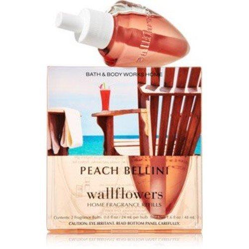 Bath & Body Works Peach Bellini Wallflowers Home Fragrance Refill