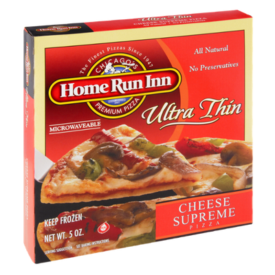 Home Run Inn Ultra Thin Supreme Cheese Pizza
