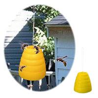 Jobar Beehive Wasp Trap Set of 2 Yellow