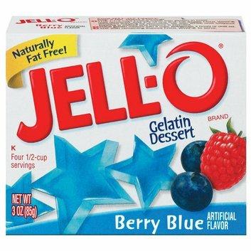Jell-O : Berry Blue Gelatin Dessert