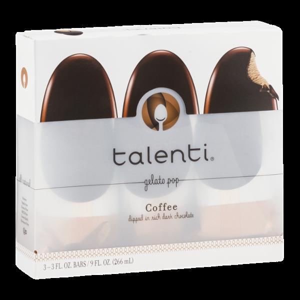 Talenti Coffee Gelato Pop - 3 CT