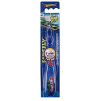 Hot Whees Hot Wheels Lightup Timer Toothbrush - Firefly Hot Wheels Toothbrush Timer
