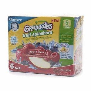 Gerber Graduates Fruit Splashers
