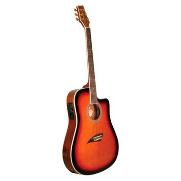Kona Guitars Kona Thin-Body Acoustic/Electric Guitar - K2SB