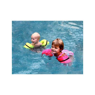 Swim Time Foamy Floatie Arm Bands in Hot Pink NT1851
