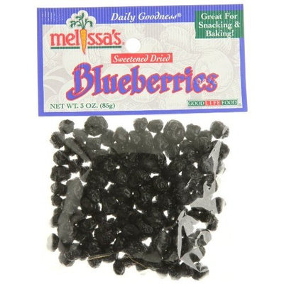 Melissa's Dried Blueberries, 3 oz (United States)
