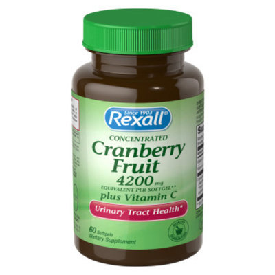 Rexall Cranberry Fruit plus Vitamin C - Softgels, 60 ct