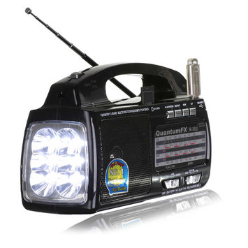 Quantum Fx Quantum FX R30U AM/FM/Shortwave Radio-Built in Flashlight