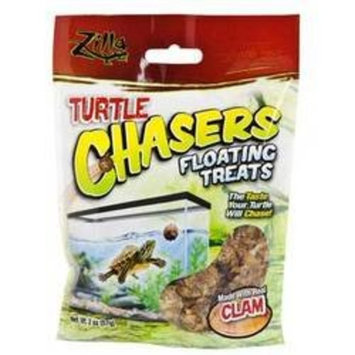 Mojetto R-Zilla SRZ09607 Real Clam Turtle Chasers Floating Treat, 2-Ounce