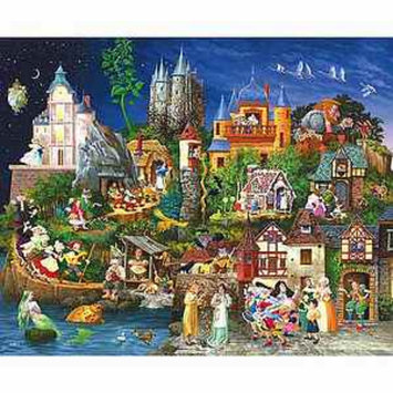 SunsOut Fairy Tales 1500 Piece Puzzle Ages 12+