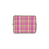Designer Sleeves 13GS2P-PGP 13 inch Designer Sleeve Case - Pink & Green Plaid