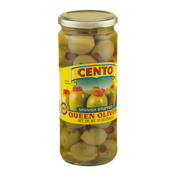 Cento Queen Olives Spanish Stuffed