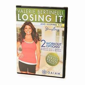 Gaiam Valerie Bertinelli Losing It and Keeping Fit! DVD