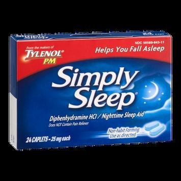Tyenol PM Simply Sleep Nighttime Sleep Aid - 24 CT