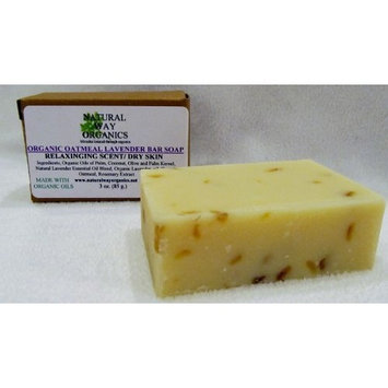 Natural Way Organics Organic Oatmeal Lavender Bar Soap