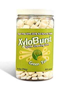 Green Tea Gum Jar XyloBurst 500ct Gum