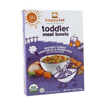 Happy Tots Organic Toddler Meal Bowls Vegetables
