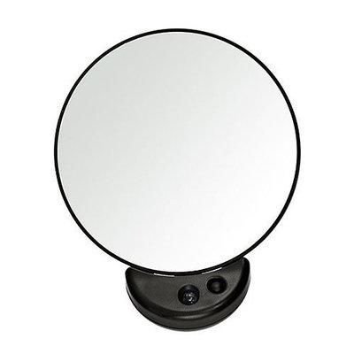 Tweezerman Tweezermate 10x Magnification Light Up Travel Mirror