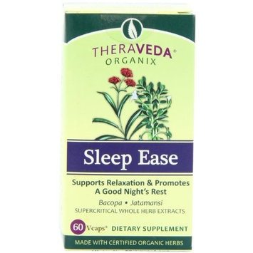 Theraveda Sleep Ease Veg Capsules, 60 Count