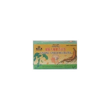 Royal King Ginseng Ginkgo Biloba Tea 20 Tea Bags/box