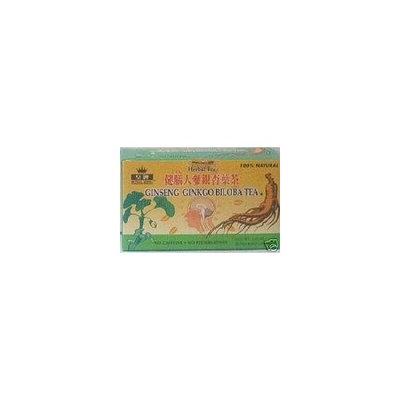 Royal King Ginseng Ginkgo Biloba Tea 20 Tea Bags/box
