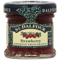 St Dalfour ST. DALFOUR Strawberry Conserves, 1 Ounce Jars (Pack of 48)