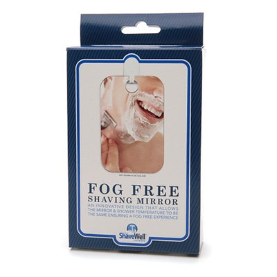 The Shave Well Company Fog Free Shaving Mirror