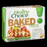 Healthy Choice Baked Taste Lasagna with Meat Sauce