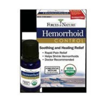 Forces of Nature Homeopathic Hemorrhoid Control - 11 ml, 2 pack