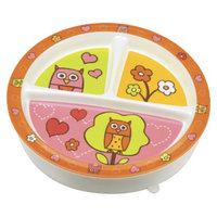 SugarBooger Divided Suction Plate - Hoot