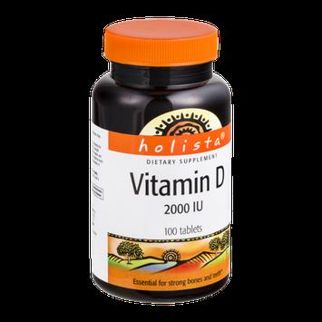 Holista Vitamin D 2000 Tablets - 100 CT
