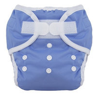 Thirsties Duo Diaper, Storm Cloud, Size Two (18-40 lbs)