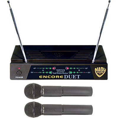 Nady Encore Duet Wireless Microphone System