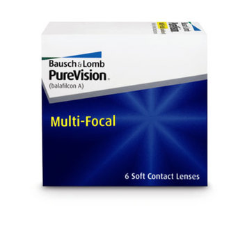 Purevision Contact Lenses Multifocal 1Box
