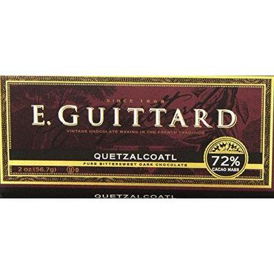 e.guittard E. Guittard Quetzalcoatl Bittersweet Chocolate 72 Percent Cacao Mass, 2-ounces (Pack of 12)