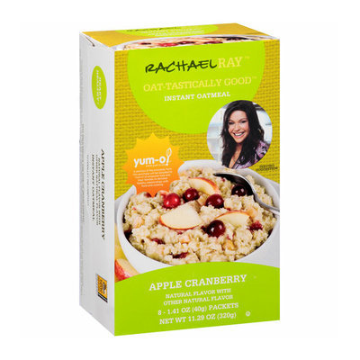 Rachael Ray Oat-Tastically Good Apple Cranberry Instant Oatmeal