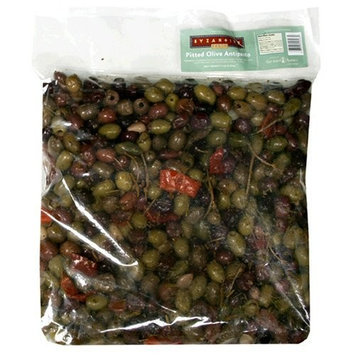 Byzantine Fresh Pitted Olive Antipasto