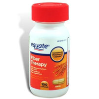 Equate - Fiber Therapy - Compare to Metamucil - For Regularity Fiber Supplement, 100 Capsules